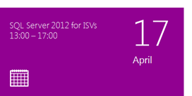 Register for SQL2012 April 17
